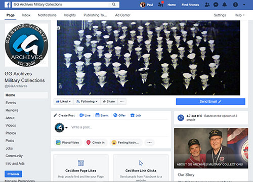 GG Archives Military Facebook Page