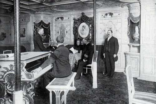 Chief Officers in the Music Room