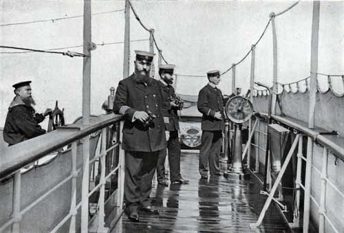 Officers on the Bridge after the Storm