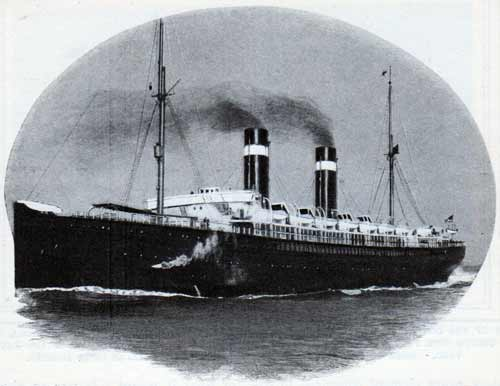 The SS St. Paul of the American Line