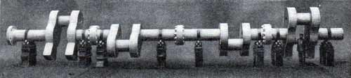 The crank shaft of the Deutschland