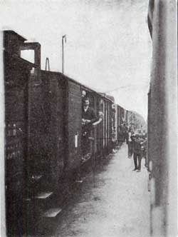 Austrian Train During the Mobiliizations