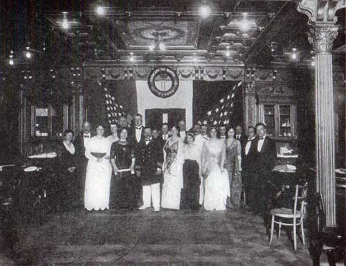 A Few of the Ship's Company on the Evening of the Concert