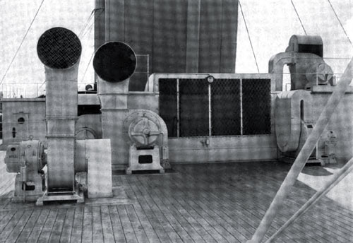 Photo02 - The Ventilating Fans And Their Intakes On The Boat Deck