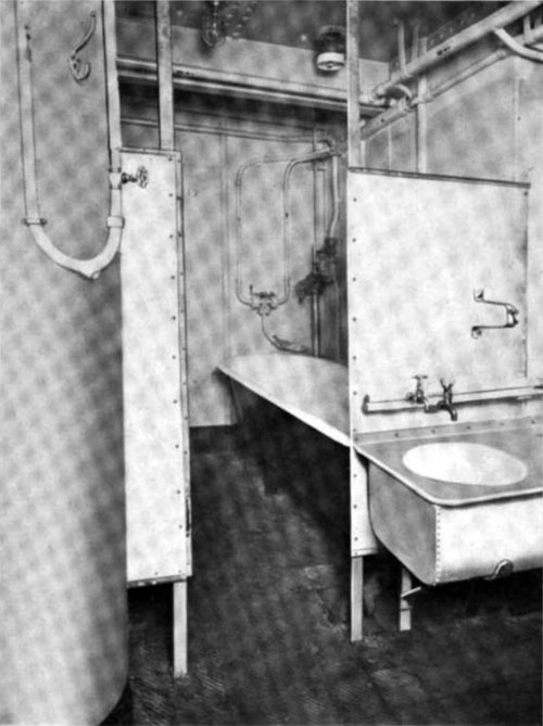 Photo01 - Type Of Bath Tubs And Wash Basins Provided For Immigrant Passengers