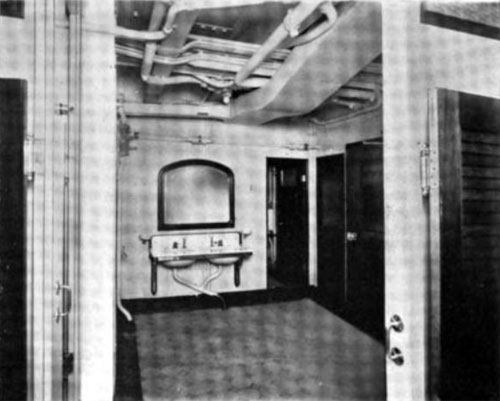 Photo12 - Section Of Bathroom In Steerage Compartment Of A Steamship