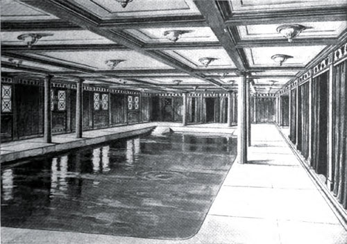 Fig02: A Drawing Of The Swimming Pool Of The Aquitania