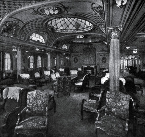 Photo09 - The Main Salon Of The Crack French Liner - The France
