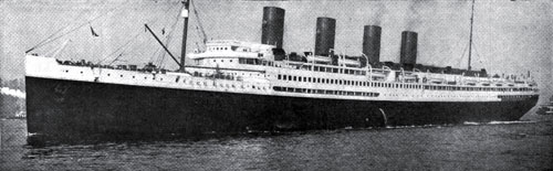 Photo13: The Steamship France Of The French Line