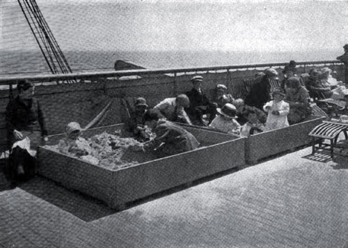 Photo15: Sandboxes On The Imperator - A Device For Amusing The Children