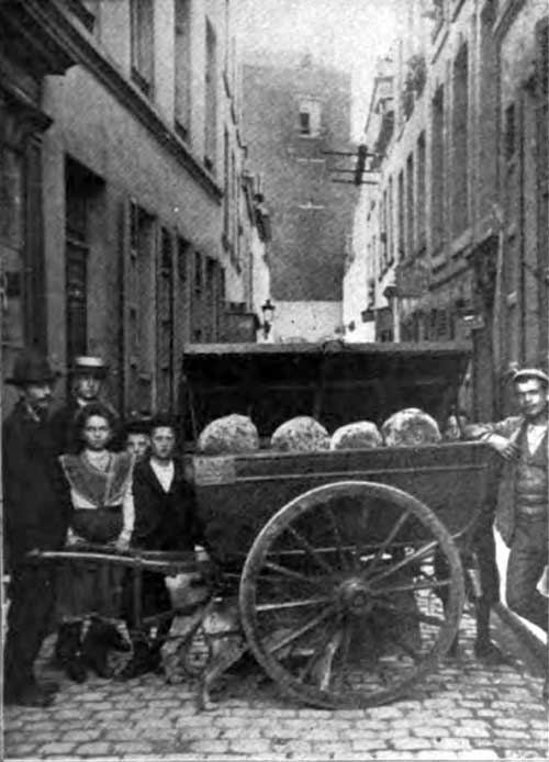 Photo 05: A Bread Cart In A Street Of Quaint Brussels