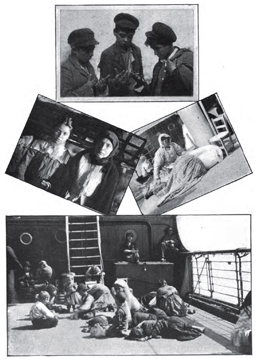 Midvoyage Scenes from the Steerage