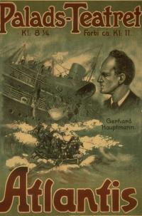 Titanic Movie: Atlantis (1913) From A Novel By Gerhart Hauptmann