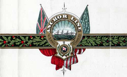 Anchor Line Top Banner Logo - 1897