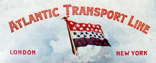 Atlantic Transport Line Top Banner Logo - 1904
