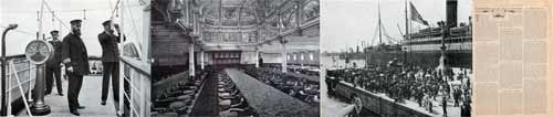 Articles on Steamships, Ocean Liners - Life on Board a Steamer