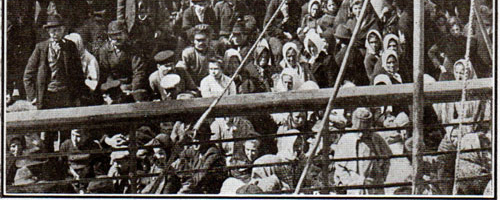 Steerage Passengers on Deck