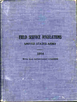 United States Army Field Service Regulations - 1914