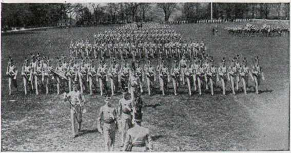 West Point Cadets on Parade