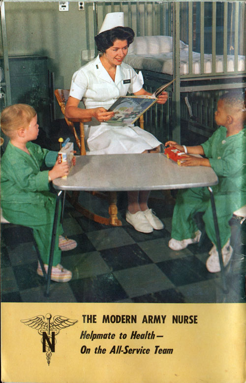 The Modern Army Nurse - December 1963 Army Digest