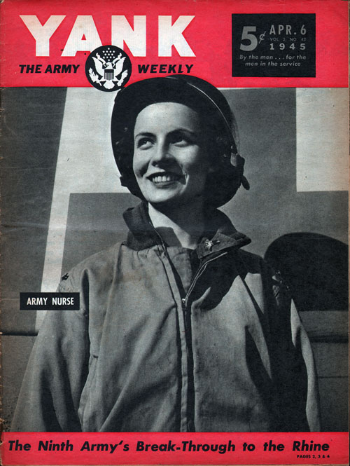 Front Cover - YANK Magazine, World War II, 6 April 1945