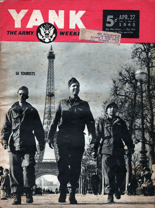 Front Cover - YANK Magazine, World War II, 27 April 1945