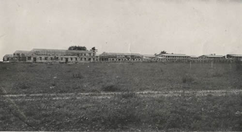 Part of Camp Dix in Course of Erection
