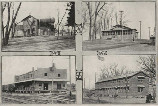 Photo11: Four Buildings at Camp Dodge
