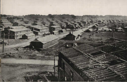Photo13: Looking south from center of Camp Dodge, Iowa (Right Side)
