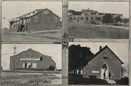 Image 24: YMCA Building, Methodist Church, Presbyterian Church and Knights of Columbus building