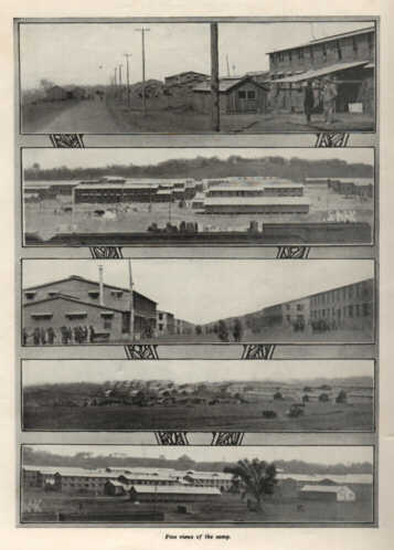 Photo03: Five views of Camp Dodge