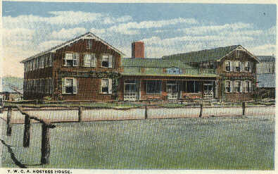 Postcard 06: The Y.M.C.A. Hostess House at Camp Dodge