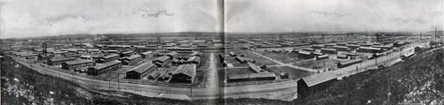 Panoramic View of Camp Funston