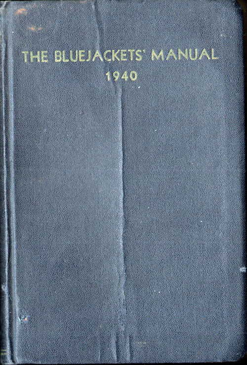 1940 The Bluejackets Manual - Tenth Edition