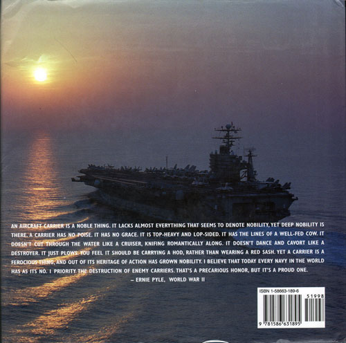 Back Cover - Fly Navy: Naval Aviators and Carrier Aviation, a History