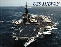 USS Midway 1995 Book by I. B. Clayton