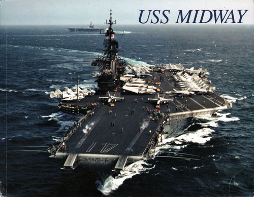 USS Midway (CV-41) by I. B. Clayton