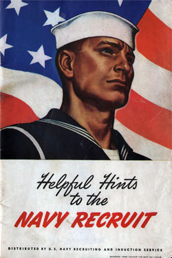 Helpful Hints to the Navy Recruit - 1945 Edition