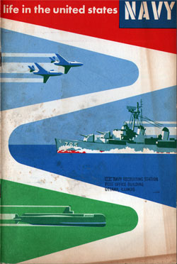 Life in the Unted States Navy - 1956 Edition