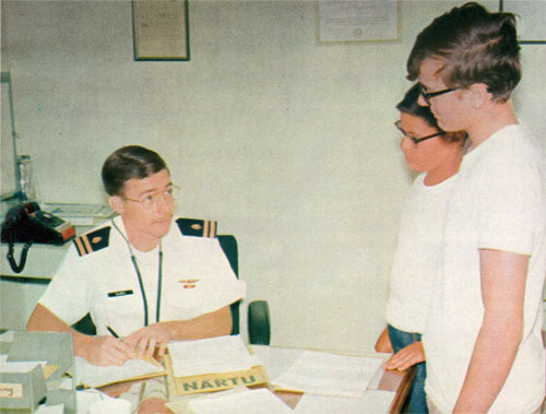 Every Cadet Must Pass Examination