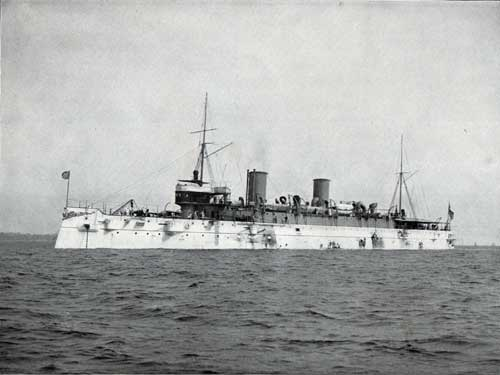USS MINNEAPOLIS--Unarmored Protected Cruiser