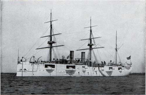 USS NEWARK—Unarmored Protected Cruiser