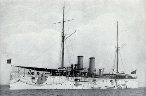 USS CINCINNATI—Unarmored Protected Cruiser