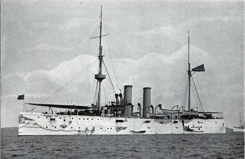 USS RALEIGH—Unarmored Protected Cruiser