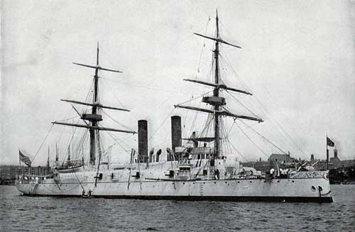 USS BOSTON—Unarmored Protected Cruiser