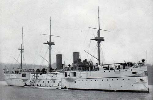 USS SAN FRANCISCO—Unarmored Protected Cruiser