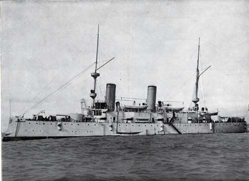 USS Olympia : Unarmored Protected Cruiser