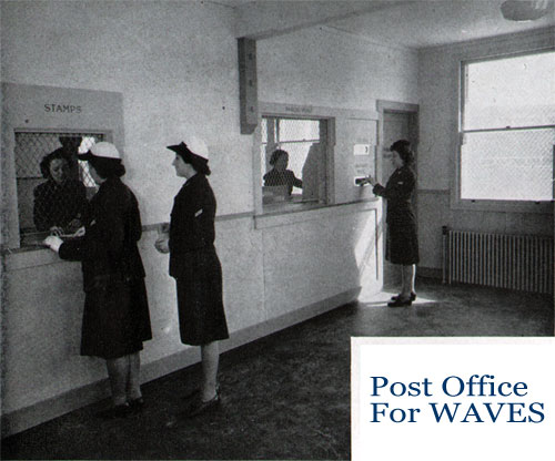 The Post Office for WAVES at Quarters D