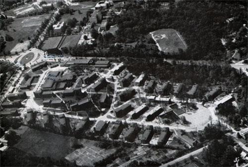 Aerial View of Quarters D
