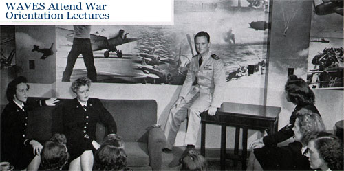 War Orientation Lectures for WAVES